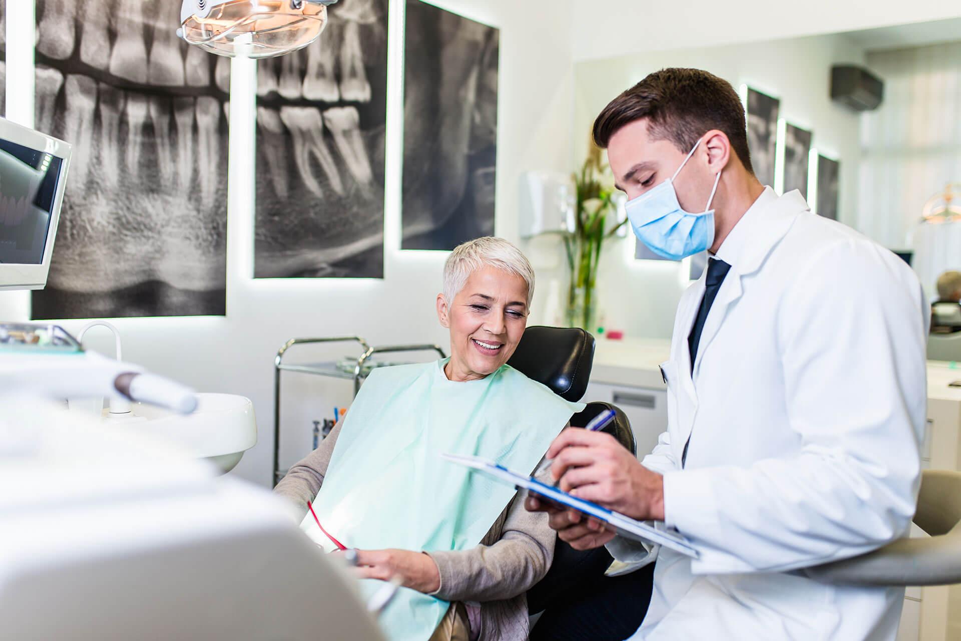 Konzultáció a fogorvosnál