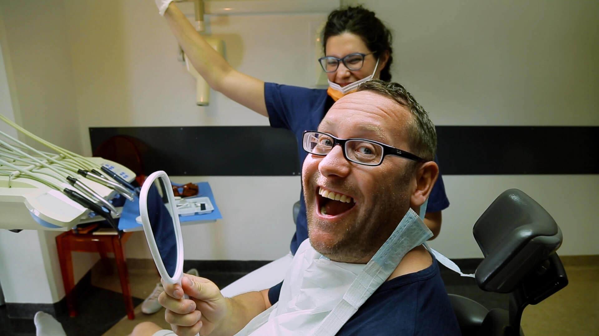 Altatásos fogászat Stresszmentes fogászat